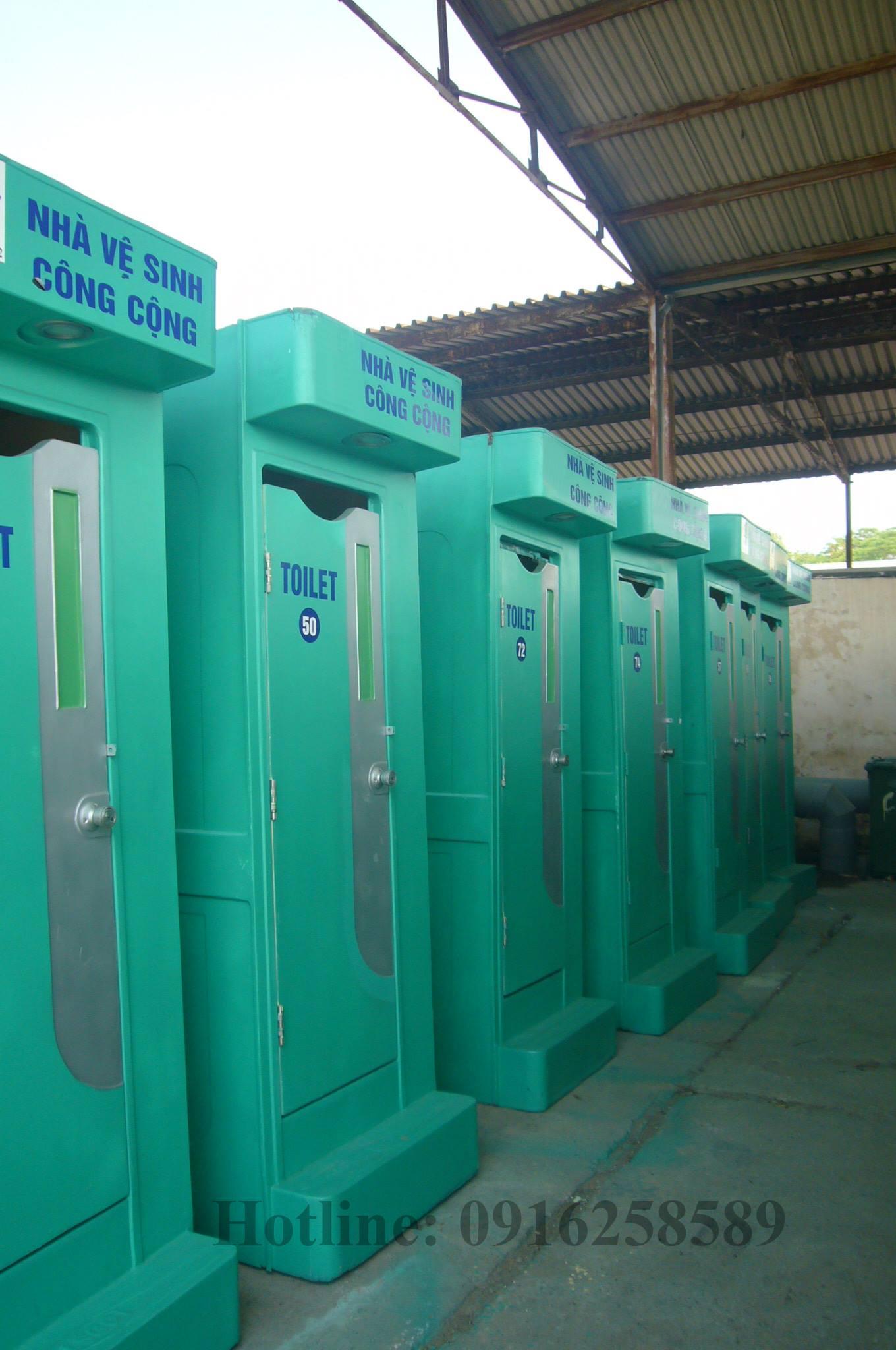 Nhà vệ sinh di động sẵn sàng cho thuê