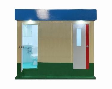 Nhà vệ sinh di động đa năng