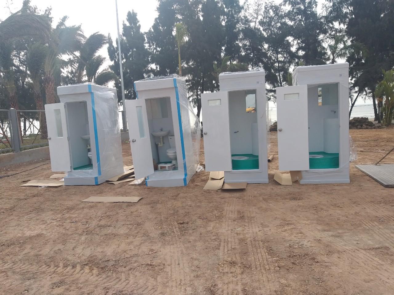 Cho thuê nhà vệ sinh công trường tại Trà Cổ - Móng Cái
