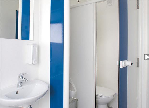 Nội thất nhà vệ sinh công cộng di động