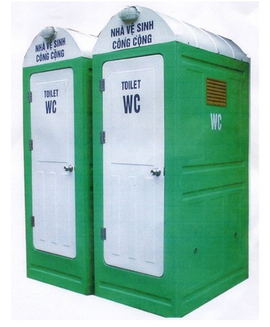 Nhà vệ sinh di đông mái vòm