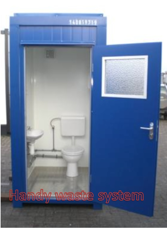 Nhà vệ sinh di động khung thép