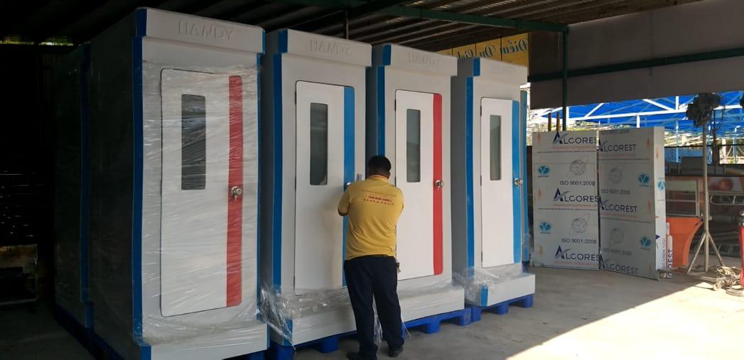 Bảng giá cho thuê nhà vệ sinh di động