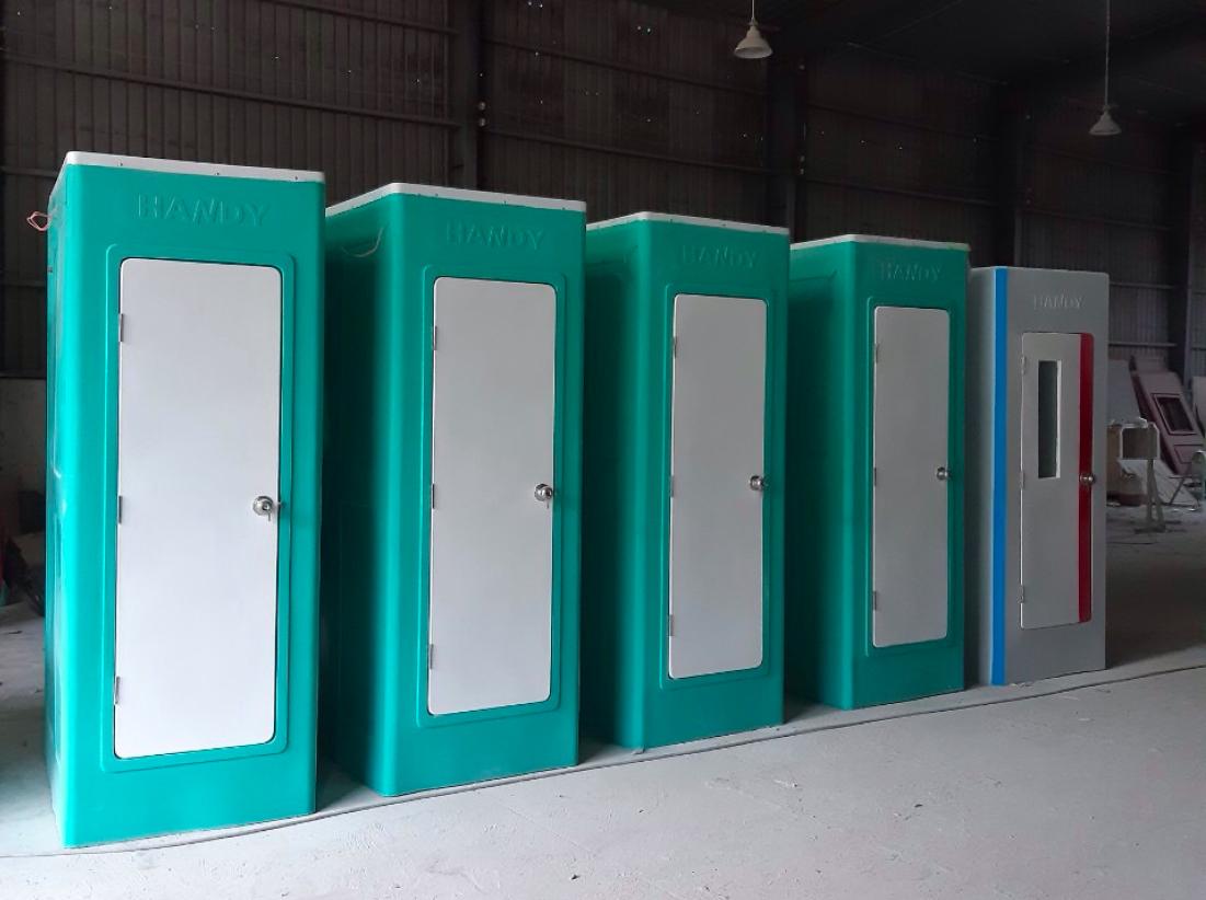 Cho thuê nhà vệ sinh đơn phục vụ xây dựng