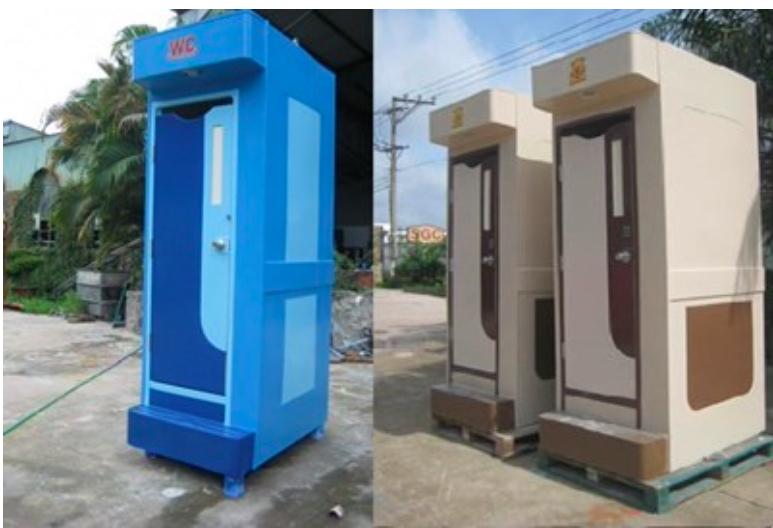 Nhà vệ sinh di động Saigon Composite