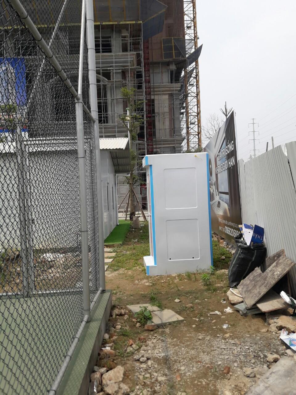 Nhà vệ sinh di động công trình H17.2