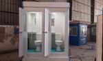 Nhà vệ sinh đôi sử dụng bàn cầu cao Inax để tiết kiệm nước và chi phí vận hành