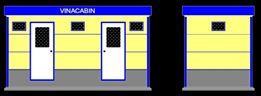 Nhà vệ sinh công cộng di động 5 phòng