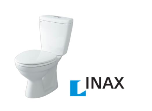 Bàn cầu inax C108VA được lắp cho nhà vệ sinh liền phòng tắm HANDY