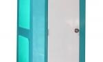 Màu sắc nhà vệ sinh di động HMT01 sau khi thay đổi