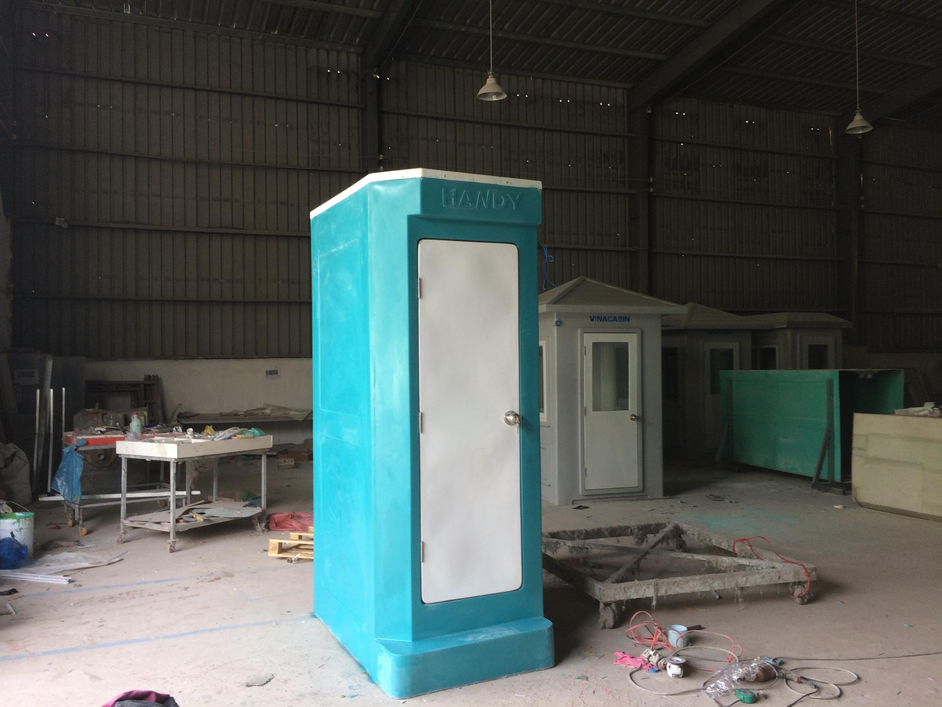 Nhà vế sinh di động HMT01 tại xưởng