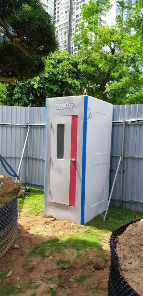Nhà vệ sinh công trình HANDY không dành cho phân khúc thị trường giá rẻ.