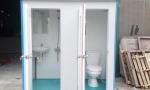 Nhà vệ sinh di động vừa làm nvs vừa là phòng tắm