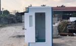 Kích thước cabin lớn, đủ để bố trí cả nhà tắm và toilet