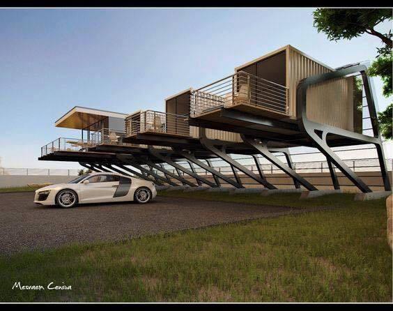 Nhà di động bằng container