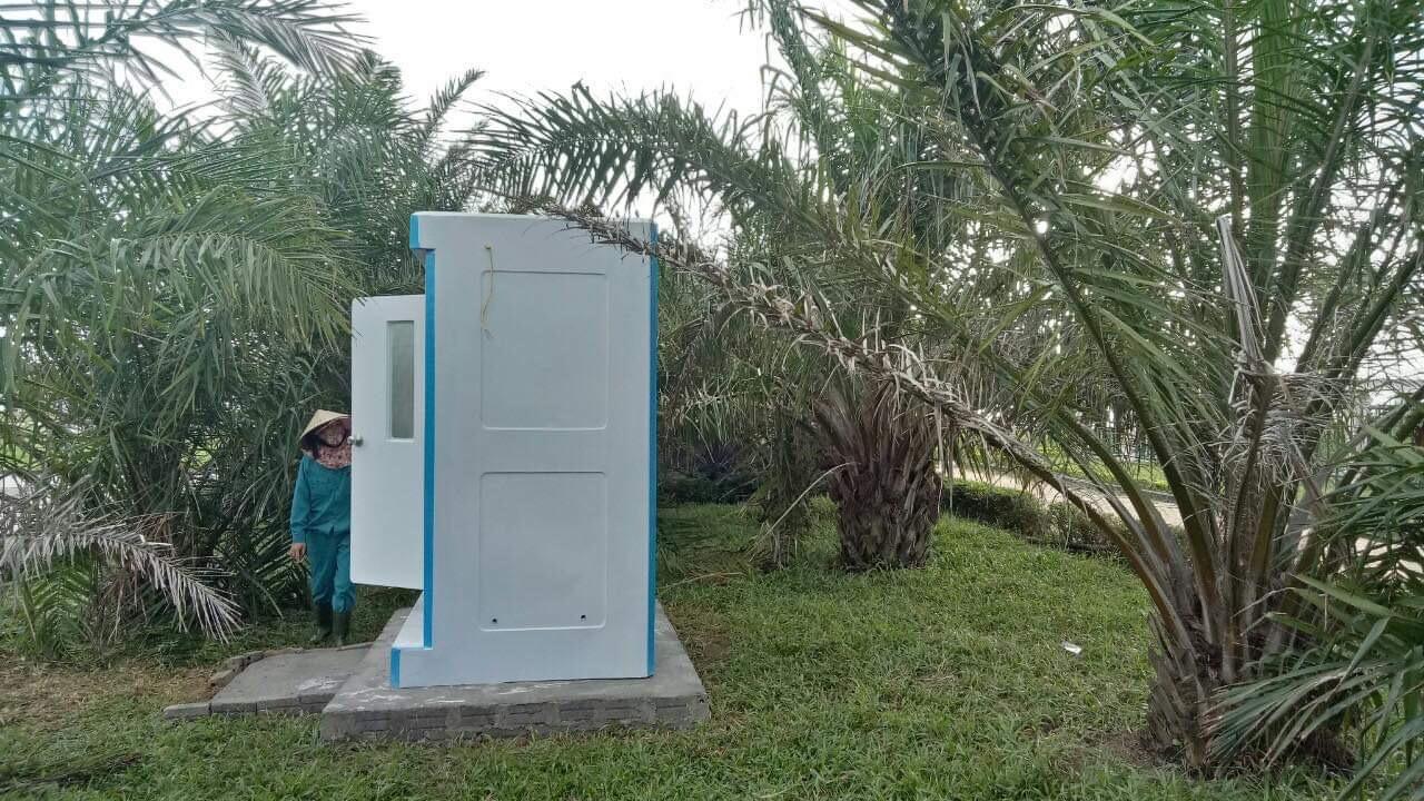 Nhà vệ sinh công cộng Handy lắp tại công viên