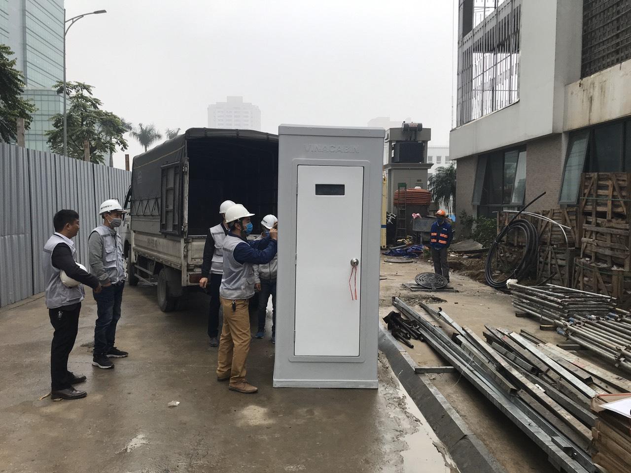 Lựa chọn nhà vệ sinh di động bằng Frp thay thế container