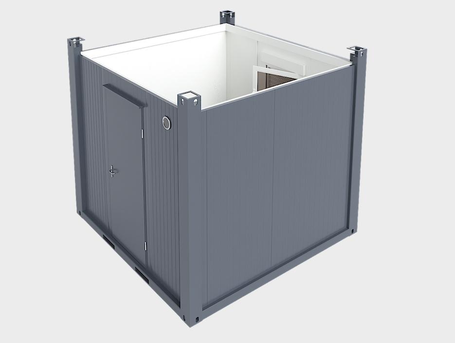 Cấu tạo container văn phòng cao cấp Handy H10F