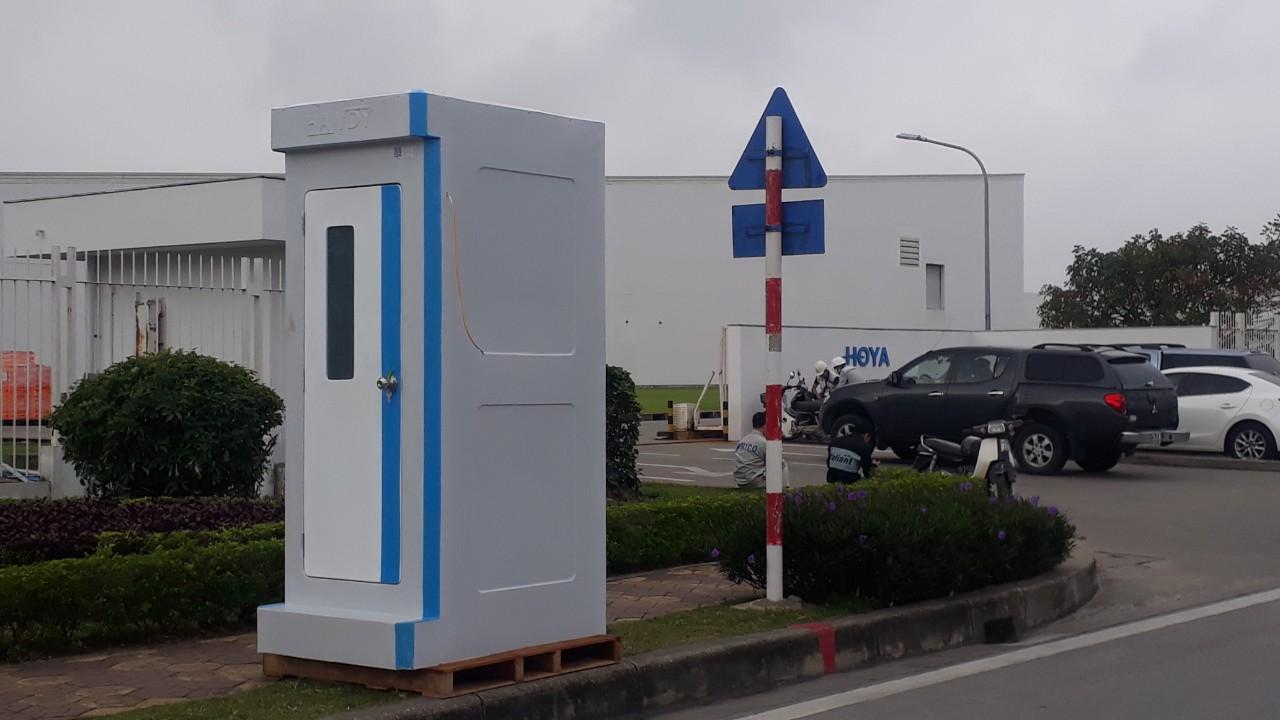 Giá nhà vệ sinh động