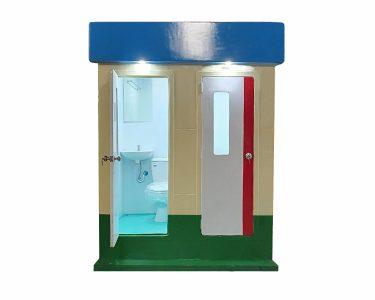 Nhà vệ sinh di động đôi cao cấp