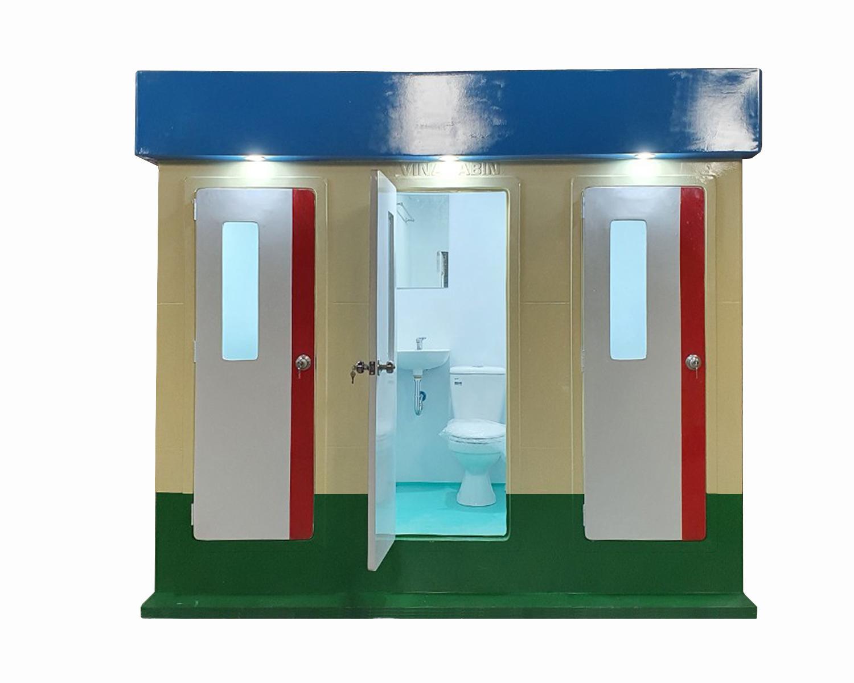Hãy mua mới nhà vệ sinh di động để đảm bảo an toàn trong phòng dịch Covid