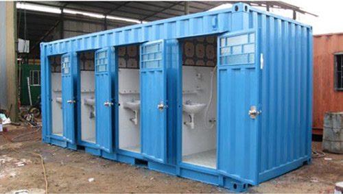 Container nhà vệ sinh di động bàn cầu thấp