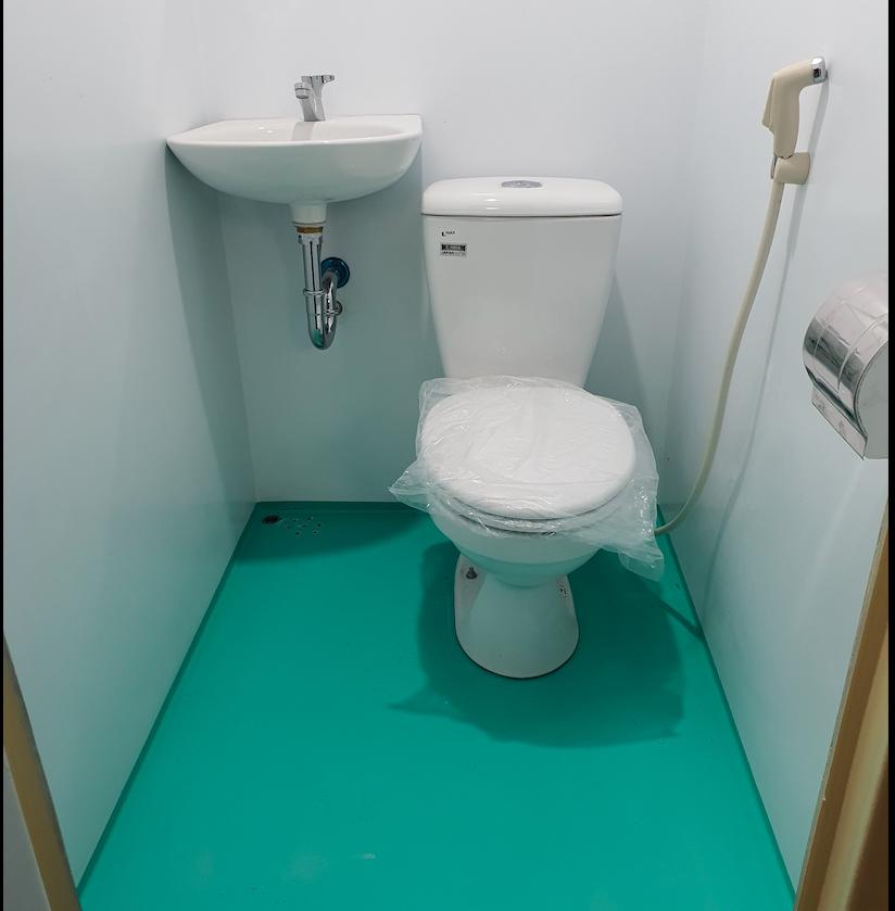 Nội thất nhà vệ sinh di động Handy
