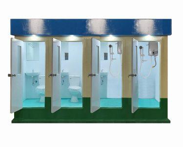 Nhà vệ sinh công cộng đa chức năng Vinacabin V18.4